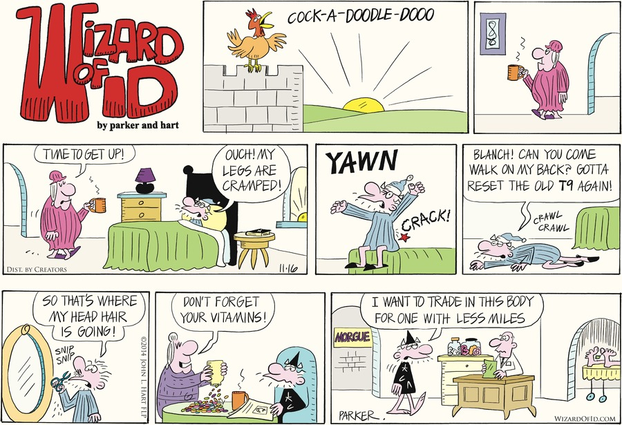 Wizard of Id Comic Strip for November 16, 2014