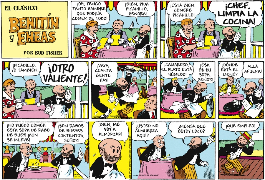 Benitin y Eneas Comic Strip for February 17, 2019