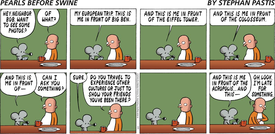 Pearls Before Swine by Stephan Pastis on Sun, 21 Jun 2020