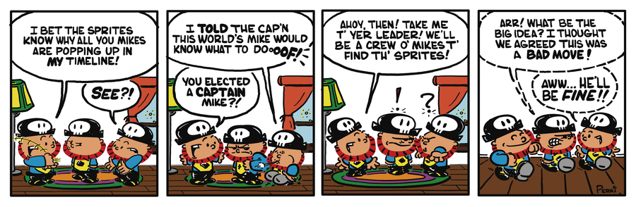 Pirate Mike Comic Strip for January 11, 2019