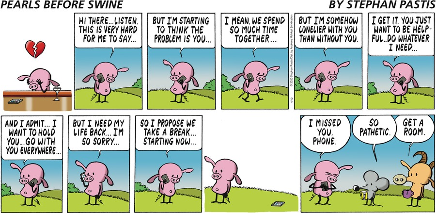 Pearls Before Swine Comic Strip for April 12, 2020