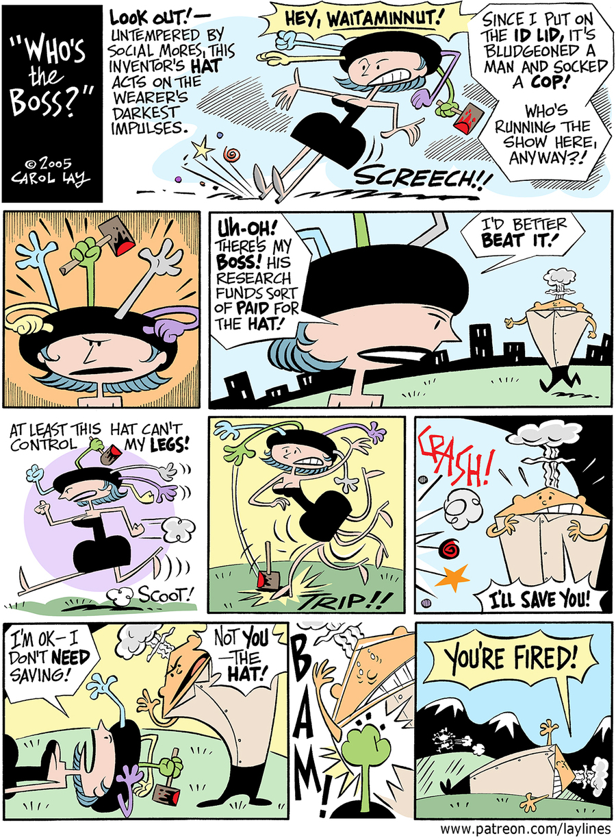 Lay Lines Comic Strip for September 04, 2017