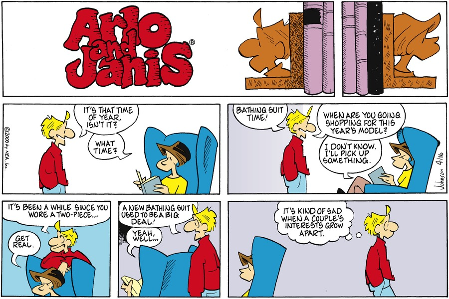 Arlo and Janis Comic Strip for April 16, 2000