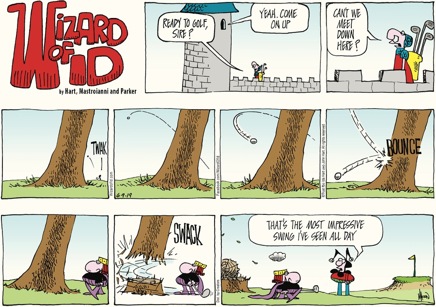 Wizard of Id Comic Strip for June 09, 2019