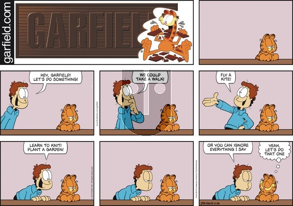 Garfield on Sunday May 26, 2019 Comic Strip