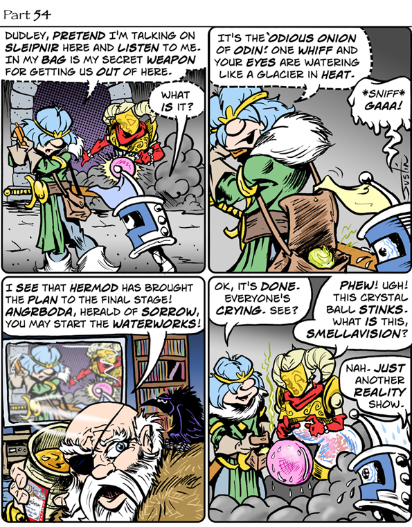 MythTickle Comic Strip for September 24, 2021