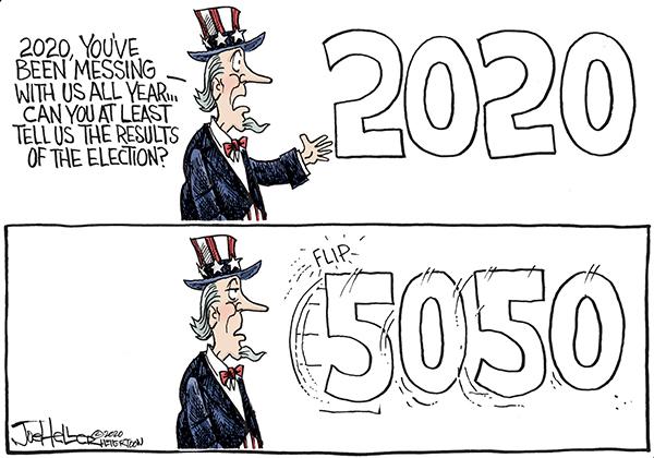 Joe Heller Comic Strip for November 04, 2020
