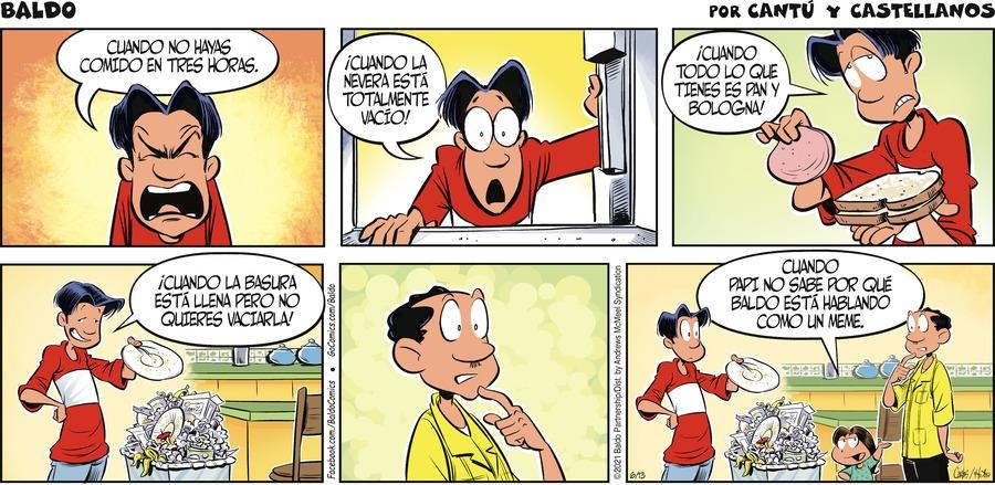 Baldo en Español Comic Strip for June 13, 2021