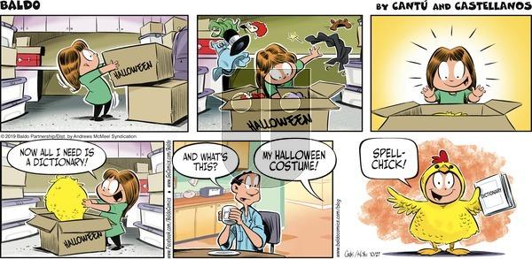 Baldo - Sunday October 27, 2019 Comic Strip