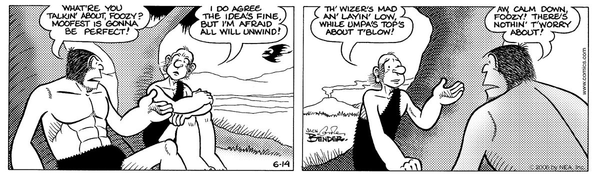 Alley Oop for Jun 14, 2006 Comic Strip