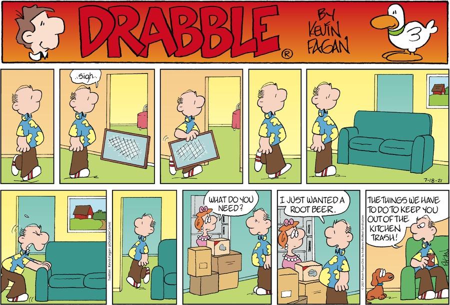 Drabble Comic Strip for July 18, 2021