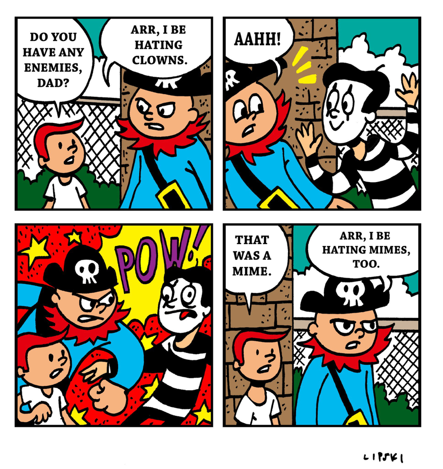Pirate Mike by Brad Perri on Tue, 17 Dec 2019
