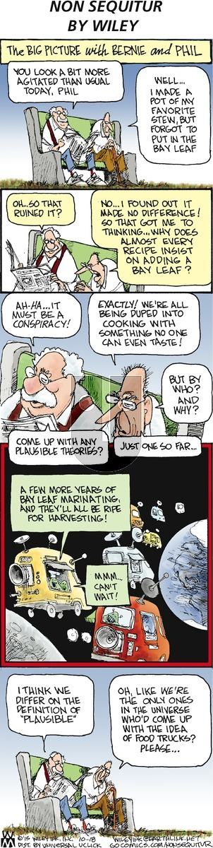 Non Sequitur on Sunday October 18, 2015 Comic Strip