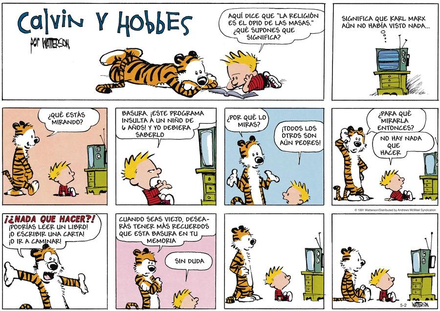 Calvin and Hobbes en Español by Bill Watterson on Sun, 02 May 2021
