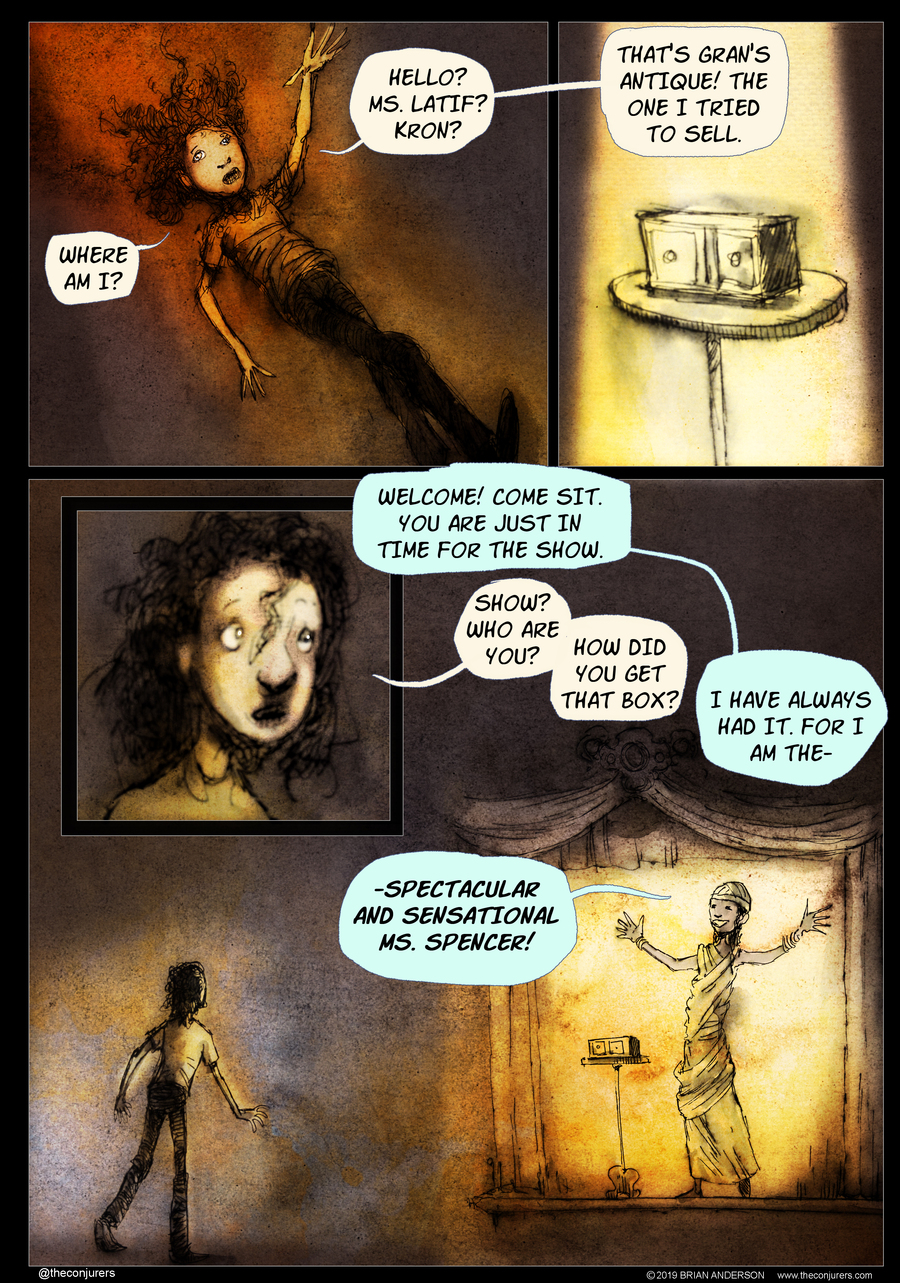 The Conjurers Comic Strip for February 10, 2020