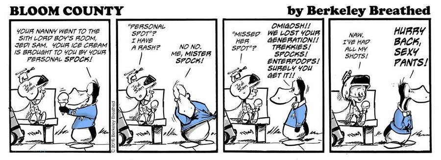 Bloom County 2019 Comic Strip for September 30, 2016