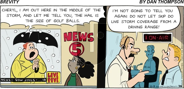 Brevity on Sunday November 3, 2019 Comic Strip