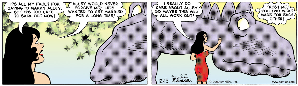 Alley Oop for Dec 15, 2009 Comic Strip