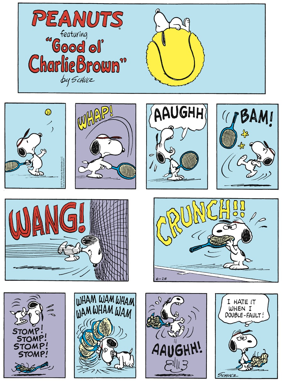 Peanuts by Charles Schulz on Sun, 28 Jun 2020