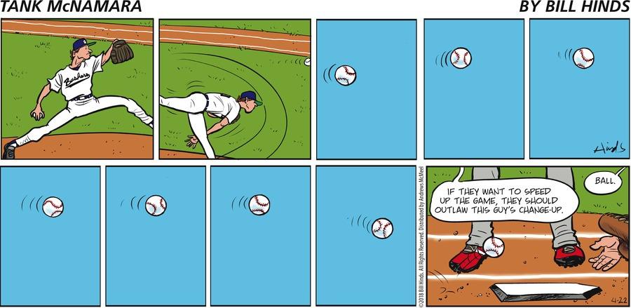 Tank McNamara Comic Strip for April 22, 2018