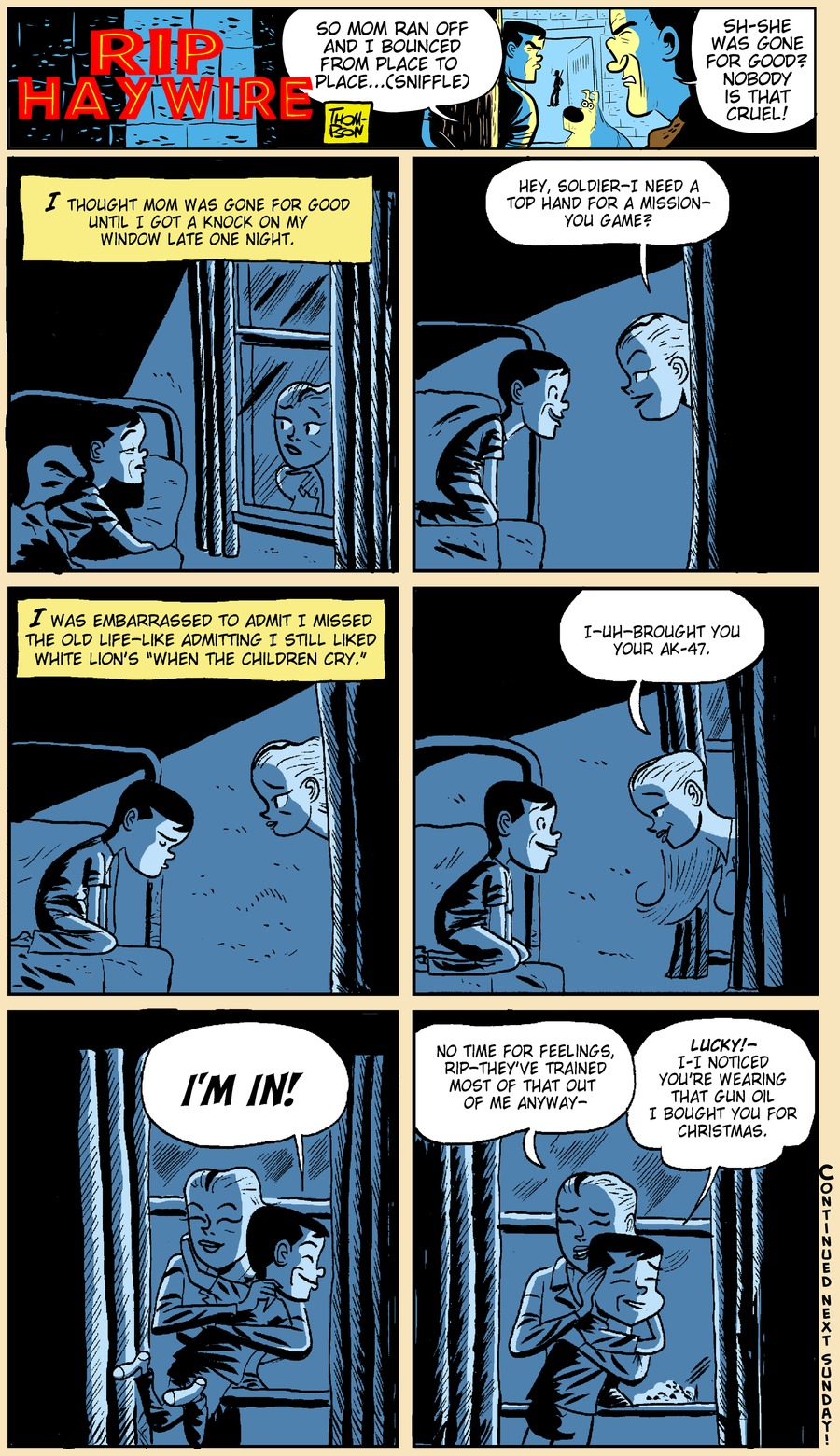 Rip Haywire Comic Strip for May 19, 2013
