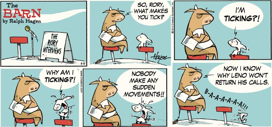 The Barn for Mar 17, 2013 Comic Strip