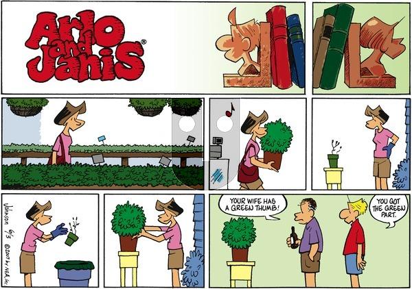 Arlo and Janis on Sunday June 3, 2007 Comic Strip