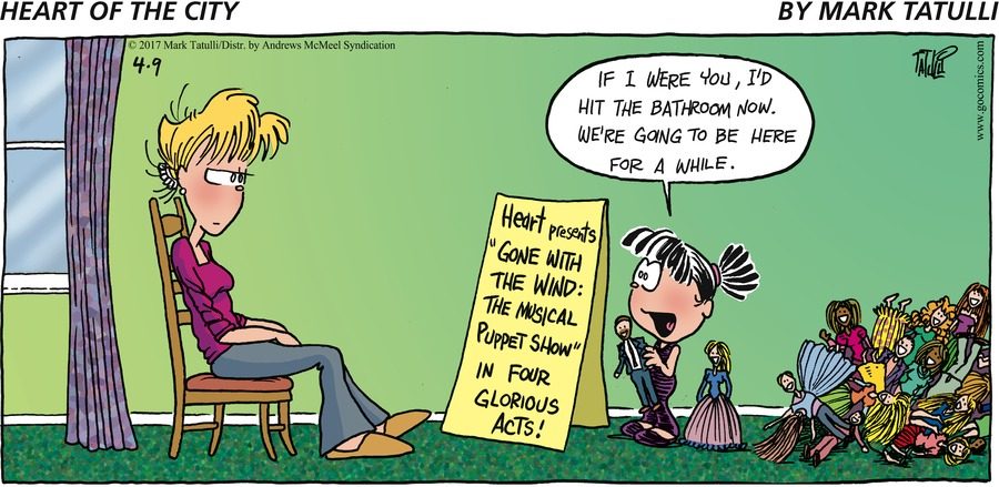 Heart of the City for Apr 9, 2017 Comic Strip