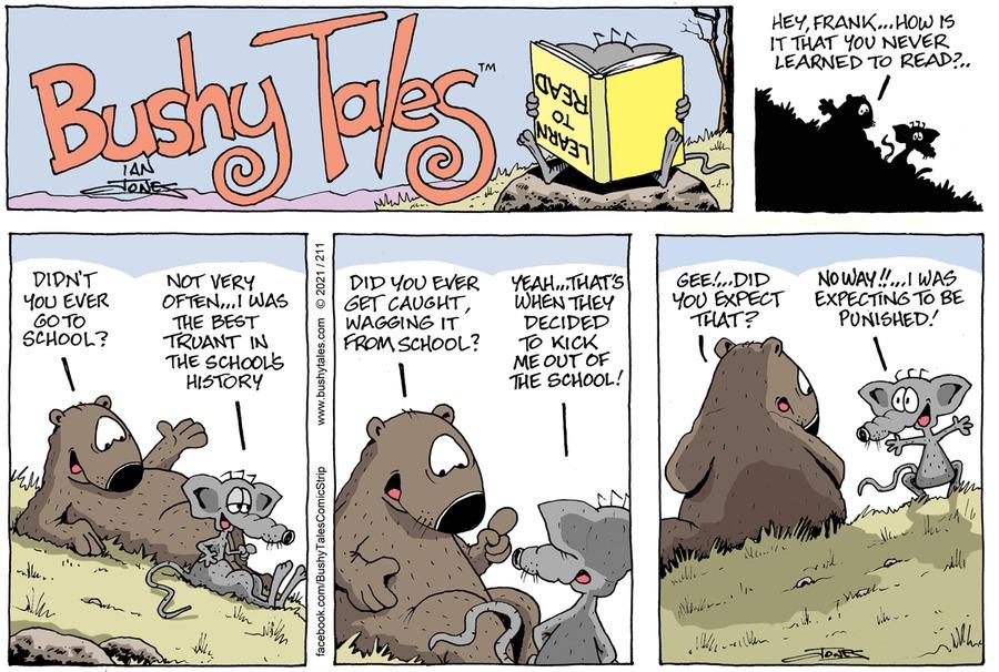 Bushy Tales by Ian Jones on Sun, 25 Apr 2021