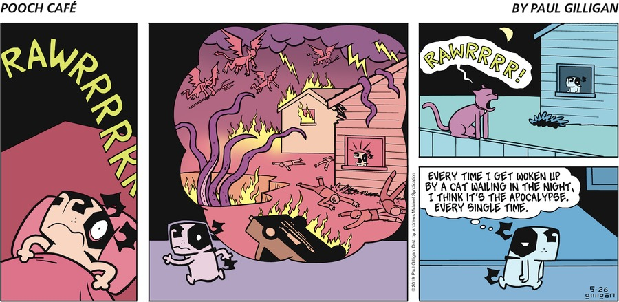 Pooch Cafe by Paul Gilligan for May 26, 2019