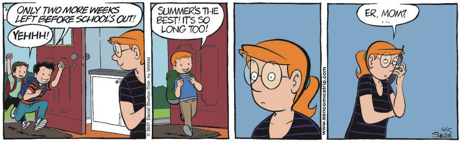 Ben Comic Strip for June 15, 2021
