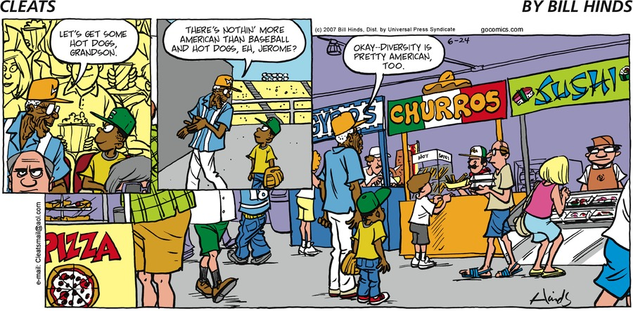 Cleats Comic Strip for June 24, 2007