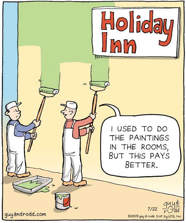 Brevity for Jul 22, 2009 Comic Strip