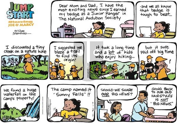 JumpStart on Sunday July 30, 2017 Comic Strip