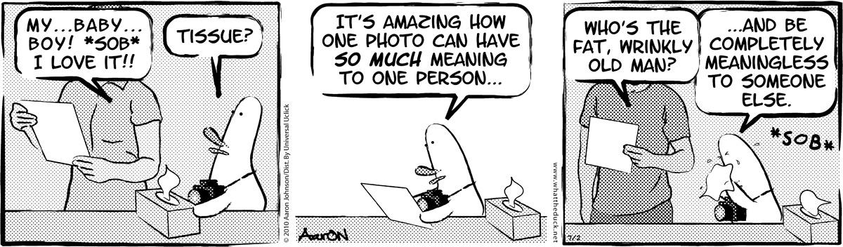 W.T. Duck Comic Strip for April 23, 2019