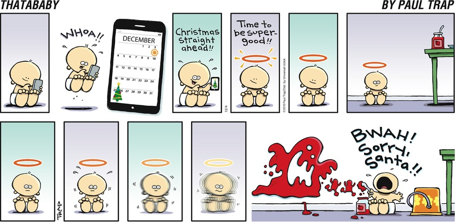 Thatababy for Dec 4, 2016 Comic Strip