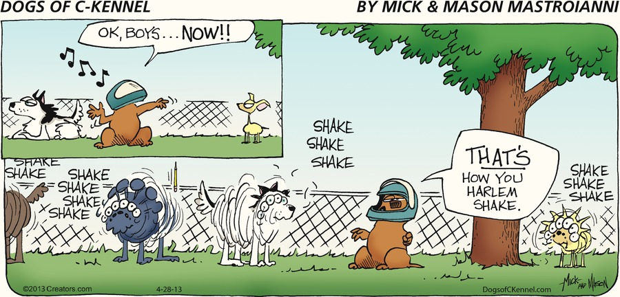 Dogs of C-Kennel for Apr 28, 2013 Comic Strip