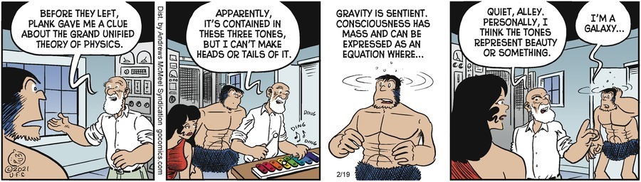 Alley Oop Comic Strip for February 19, 2021