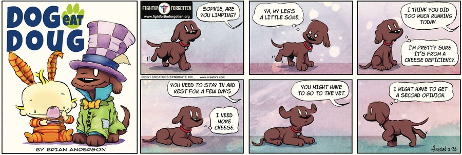 Dog Eat Doug Comic Strip for February 28, 2021