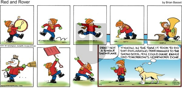 Red and Rover on Sunday February 3, 2019 Comic Strip