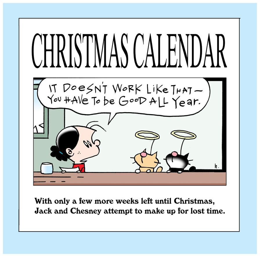 Ten Cats Comic Strip for December 05, 2019