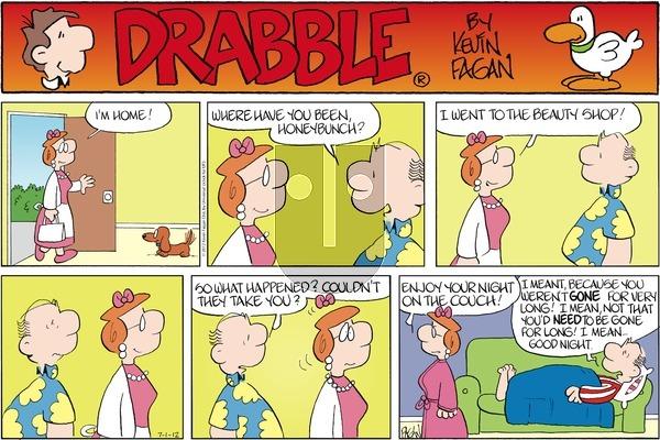 Drabble - Sunday July 1, 2012 Comic Strip