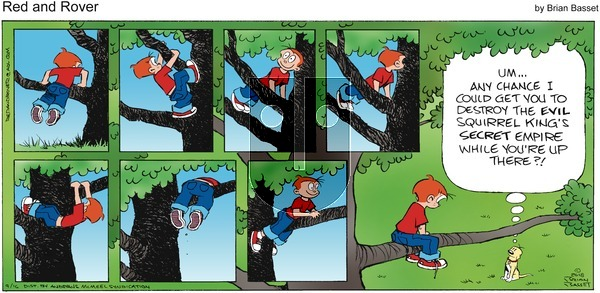 Red and Rover on Sunday September 16, 2018 Comic Strip