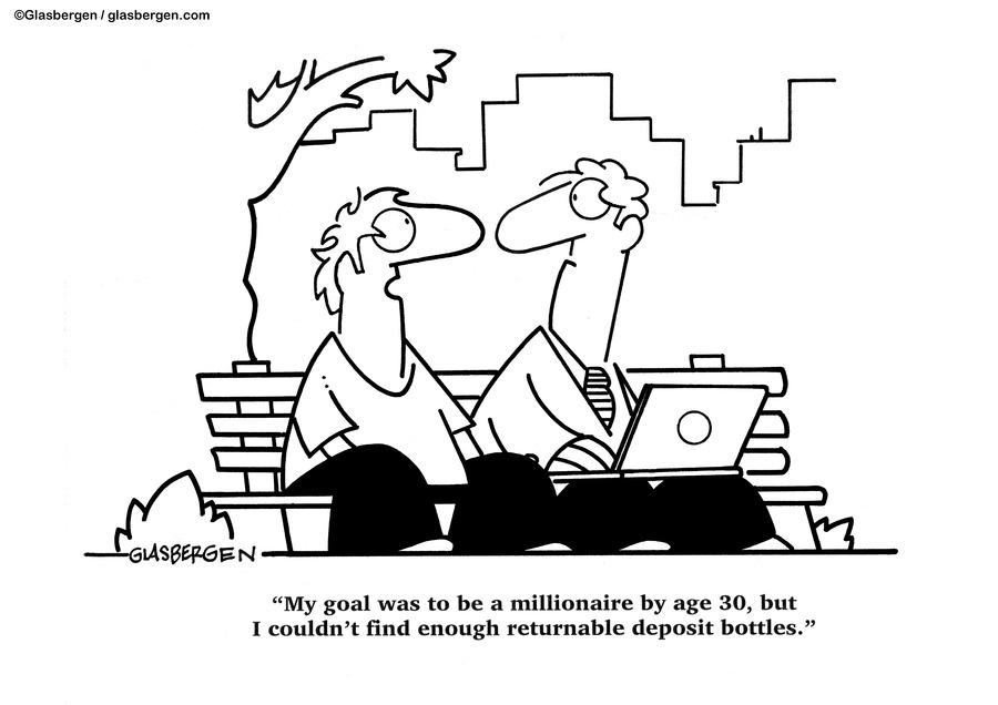 Glasbergen Cartoons by Randy Glasbergen on Sun, 24 Oct 2021