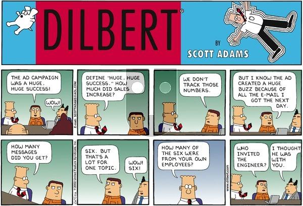 Dilbert - Sunday January 27, 2002 Comic Strip