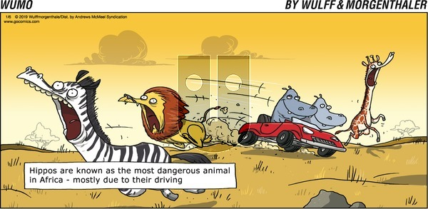 WuMo on Sunday January 6, 2019 Comic Strip