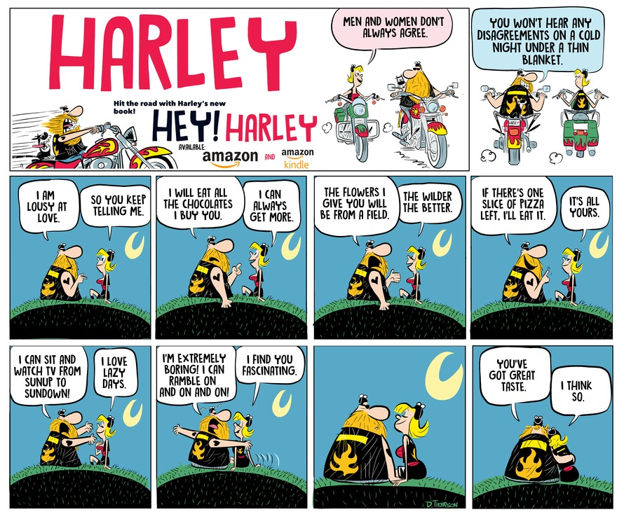 Harley Comic Strip for August 01, 2021