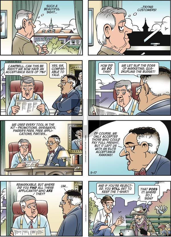 Doonesbury on Sunday May 17, 2015 Comic Strip