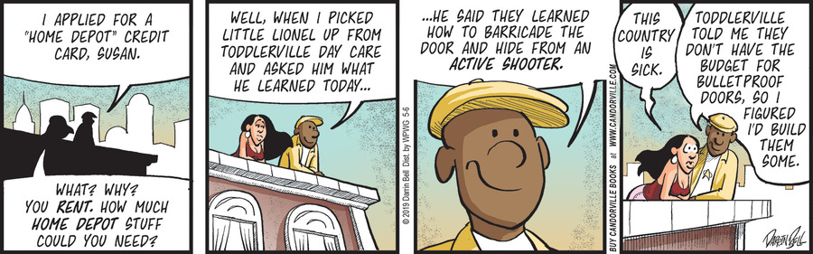 Candorville by Darrin Bell for May 06, 2019