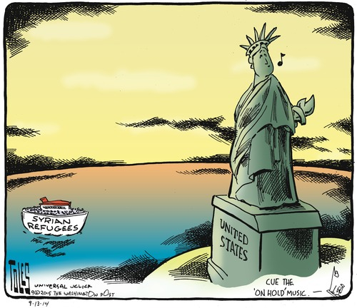 Tom Toles | Don't Give Me Your Tired, Poor Syrian Masses / assets.amuniversal.comassets.amuniversal.com/